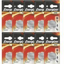 10 Pcs Energizer CR2450/ECR2450/2450 Lithium Coin Cell Button Battery Exp-2030