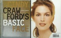Cindy Crawford's Basic Face - A Make-up Manual - Spiral Bound Hardcover 1996