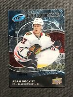 2019-20 UPPER DECK ICE ADAM BOQVIST RETRO ROOKIE PREMIERES ACETATE #ed 140/149