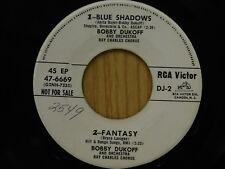 Bobby Dukoff 45 ep Blue Shadows / Fantasy + 2 Eddie Heywood ~ RCA VG+