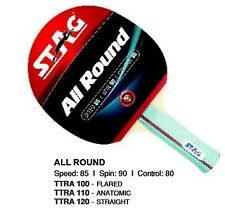 STAG Table Tennis RACKET ALL ROUND ITTF APPROVED