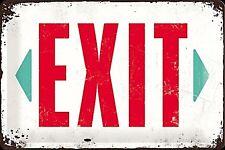 "Metall Schild "" Exit"" (Na 3020)"