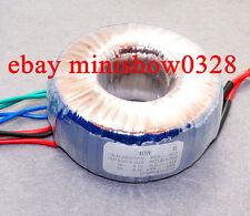 50W 220V Toroid Transformer  220V-0-220V 6.5V *2  for Tube preamp amplifier DIY