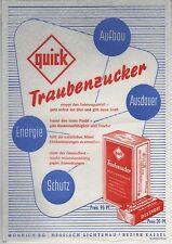 quick Traubenzucker - Aufbau, Ausdauer, Energie, Schutz, Mönnich KG
