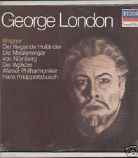GEORGE LONDON - Richard Wagner - LP Decca sigill sealed