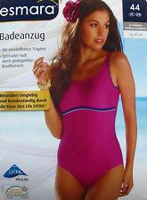 NEU Damen Badeanzug Pink Swimwear Bademode Größe 38 42 44