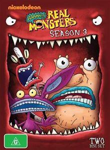 Aaah!!! Real Monsters : Season 3 (DVD, 2013, 2-Disc Set)