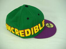 New Era Incredible HULK 7 5/8 Green Purple Hat 59 50 Fifty 60.6 cm 5950 $33