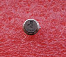 10pcs MAT02EH MAT02 Low Noise  Matched Dual Monolithic Transistor