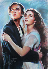 Titanic, rose and jack, art print on archive paper by Star