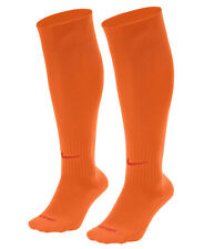 NIKE Classic II Cushioned OTC Soccer Socks sz L Large (8-12) Safety Orange