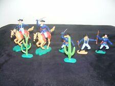 TIMPO -2 cavaliers 3 piétons Nordistes - 1/32 Guerre de Sécession