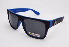 BioHazard Optics Sunglasses BLUE & BLACK Ridges Trendy Unisex Men's New Shades
