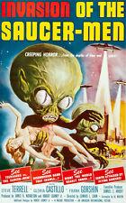 "20x30"" CANVAS Decor.Room design art print..Invasion of Saucer men movie.6116"