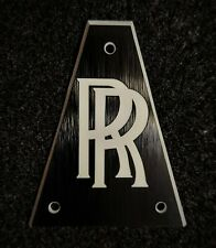 Randy Rhoads Jackson Guitar Truss Rod Cover - RR - Black/White