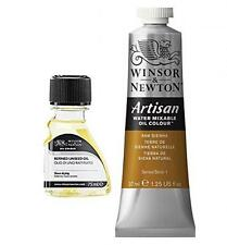 Oil Painting Supplies: Winsor & Newton Artisan Water Mixable Oil Color, 37ml, Ra