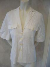 RENÉ LEZARD Blusa / Blazer blanco talla 34/UK6 PVP NUEVO