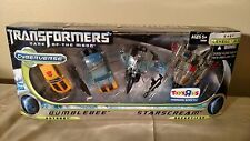 Transformers Dark of the Moon DOTM Cyberverse Bumblebee Starscream TRU MISB