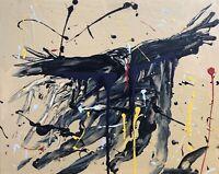 "Murderous Crows, ""Landing Party #2 Original Oil Painting On Canvas"