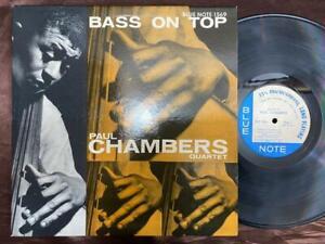 PAUL CHAMBERS BASS ON TOP BLUE NOTE INC. BLP 1569 RVG MONO US Vinyl LP