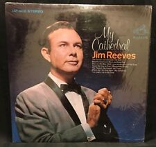 """Jim Reeves Vinyl Records Country Music Record Album My Cathedral Classic LP 12"""""""