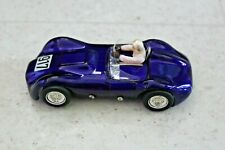 MRRC 1/32 slot car Purple 917 With Driver