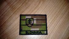 SLOVAK ARMY MILITARY FLAG DIGITAL FOREST CAMO VELCRO PATCH