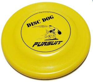Chomper Pursuit Print Fastback Dog Disc US Made Dog Frisbee Toss and Fetch Disc