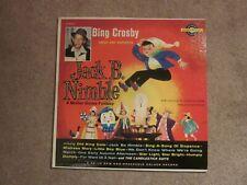 Bing Crosby Sings and Narrates Jack B. Nimble Mother Goose Fantasy Golden Record