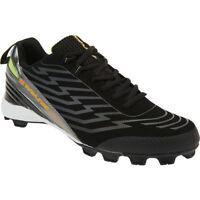 Rawlings Men's Black/Orange 3181MBKOR Gator Low Baseball Cleats Shoes - Sz 8
