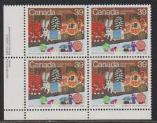 1985 Canada SC# 1068 LL Christmas Santa Claus Parade Plate Block M-NH Lot# 1778