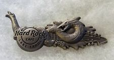HARD ROCK CAFE LAKE TAHOE PEWTER TESSIE LOCH NESS MONSTER GUITAR PIN # 89946