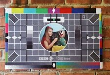 BBC Television - Test Card - wall canvas