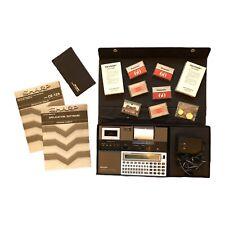 Vintage Sharp Pocket Computer CE-125 Printer Cassette Interface 1982 Calculator