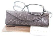 Gucci GG 3519 W06 Dark Grey Rectangular 55mm RX Eyeglasses NWT AUTH GG3519