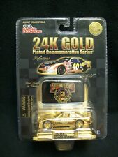 Racing Champions 24 Karet Gold Sterling Marlin Limited Edition Nascar.