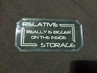 TTCombat - Sci Fi Scenics - Sign B - Relative Storage - Great for Infinity