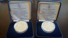 "Greece 2 x 10 euro Silver PP Coins 2011 ""Special Olympic Games"" SAME COA Numbers"