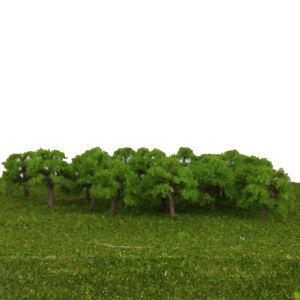 25 Pieces Scale1: 300 Landscapes Landscape Train Model Trees