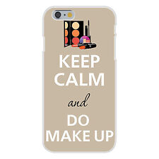 Keep Calm and Do Makeup Mascara Lipstick FITS iPhone 6 Snap On Case Cover New