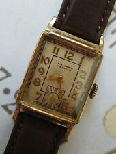 1950's Waltham Premier USA 750 Wrist Watch 10K Gold Filled Case