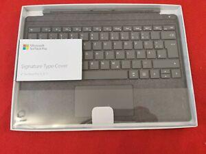 Microsoft Surface Pro 5,6,7 Signature Type Cover Tastatur - Platingrau