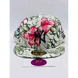 New Era 59Fifty 7 7/8 in New York Yankees Floral Hat 5950 Newwan Aloha