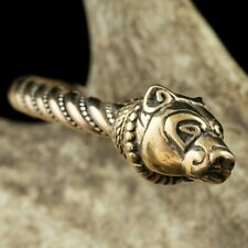 Bronze Necklace Dragon Torques 2 Sizes S and M Viking Torques Viking Jewelry Celtic Necklace