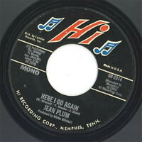 JEAN PLUM-HERE I GO AGAIN / I LOVE HIM-JAPAN 7INCH VINYL Ltd/Ed C94