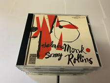 THELONIOUS MONK AND SONNY ROLLINS S/T CD Germany Prestige 1987 5 Track