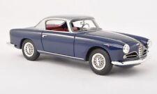 Alfa Romeo 1900C Super Sprint Touring 1957 Blue/Silver 1:43 Neoscale NEO45030