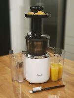 Slow Masticating Juicer Fruit Vegetable Maker Machine Cold Press Juice Extractor