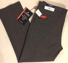 Chaps Performance Series Men's Dress Pants 40 X 32 Gray Pinstripe Suit Separate