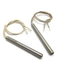 """Accurate Cartridge Heater 3//8/"""" Dia X 6/"""" Long 500W 240V 15/""""  Fiberglass leads"""